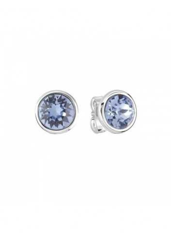 Pendientes Guess Mujer UBE83047 Metal Rodio Cristal Azul