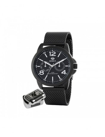 Reloj Marea Hombre B41221/3 Manuel Carrasco Multifunción Armis Negro