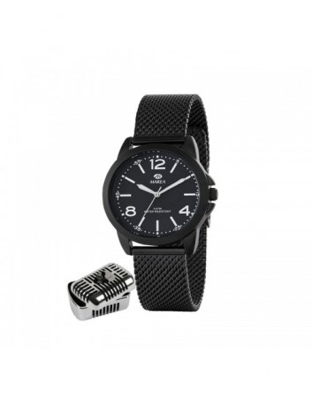 Reloj Marea Mujer B41222/3 Manuel Carrasco Armis Negro